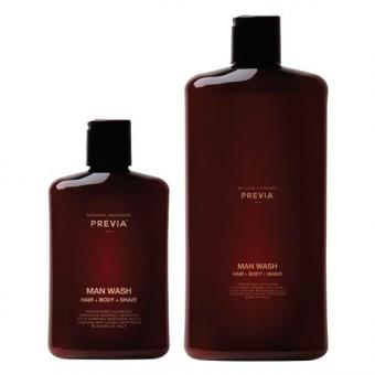 PREVIA MAN Wash Hair + Body + Shave