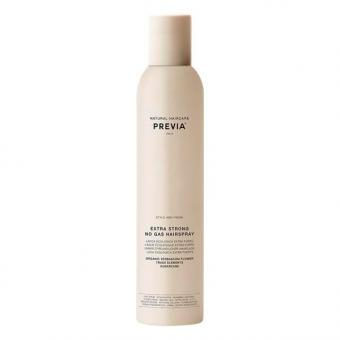 PREVIA No Gas Hairspray Extra Strong with Verbascum Flower 200 ml