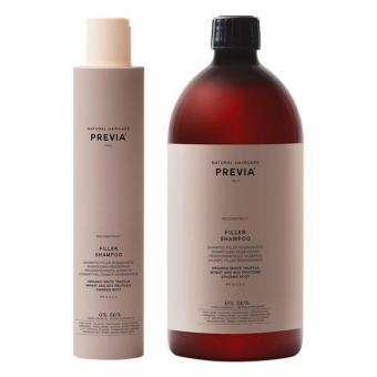 PREVIA Reconstruct Filler Shampoo with White Truffle