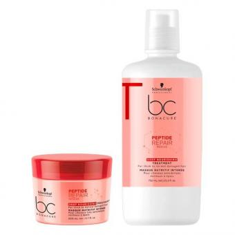 Schwarzkopf BONACURE Peptide Repair Rescue Deep Nourishing Treatment