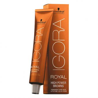 Schwarzkopf IGORA ROYAL High Power Browns B-3 Braun Matt Tube 60 ml