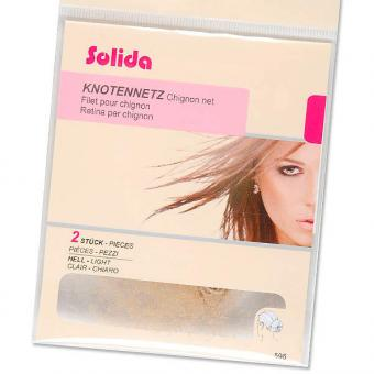 Solida Ultra-Stretch Knotennetze Hell, Pro Packung 2 Stück