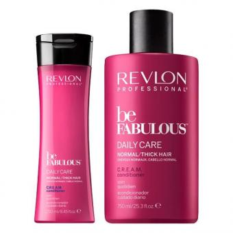 Revlon Professional Be Fabulous Daily Care Normal/Thick Hair C.R.E.A.M. Conditioner
