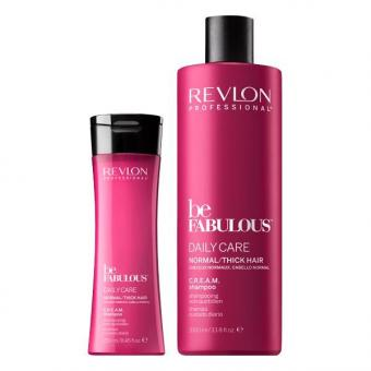 Revlon Professional Be Fabulous Daily Care Normal/Thick Hair C.R.E.A.M. Shampoo