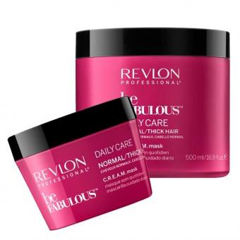 Revlon Professional Be Fabulous Daily Care Normal/Thick Hair Cheveux normaux masque quotidien