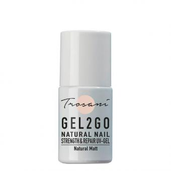 Trosani Gel2Go Natural Nail Strength & Repair UV-Gel Natural Matt, 10 ml