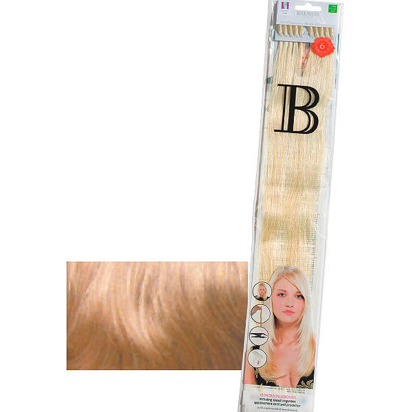 Balmain Fill-In Extensions Straight 614 Natural Blond - 1