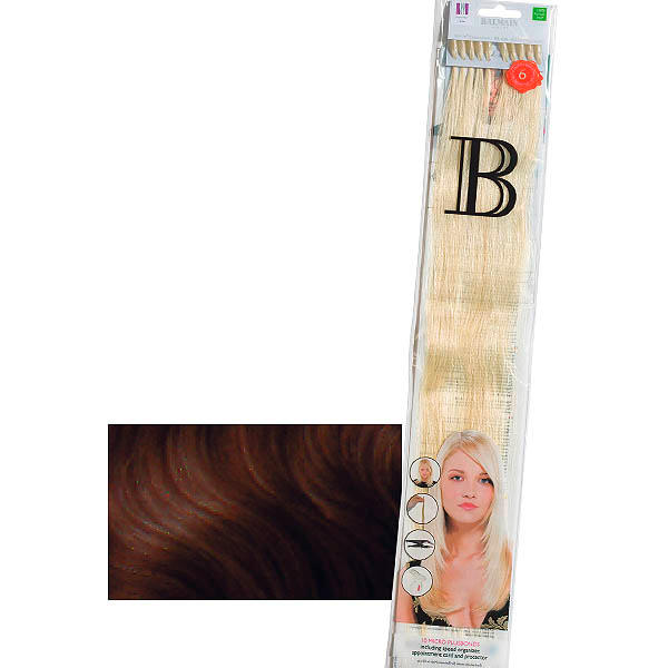 Balmain Fill-In Extensions Straight 6 Light Mocca - 1