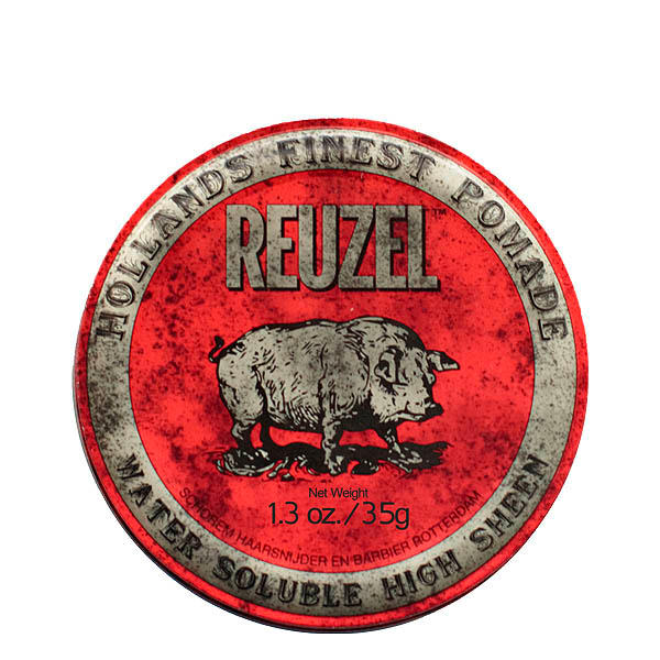 Reuzel Pomade Red Water Soluble High Sheen 35 g - 1