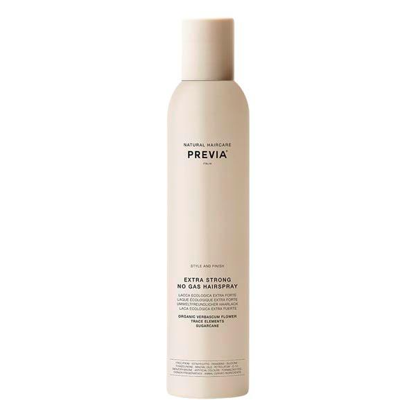 PREVIA No Gas Hairspray Extra Strong with Verbascum Flower 350 ml - 1