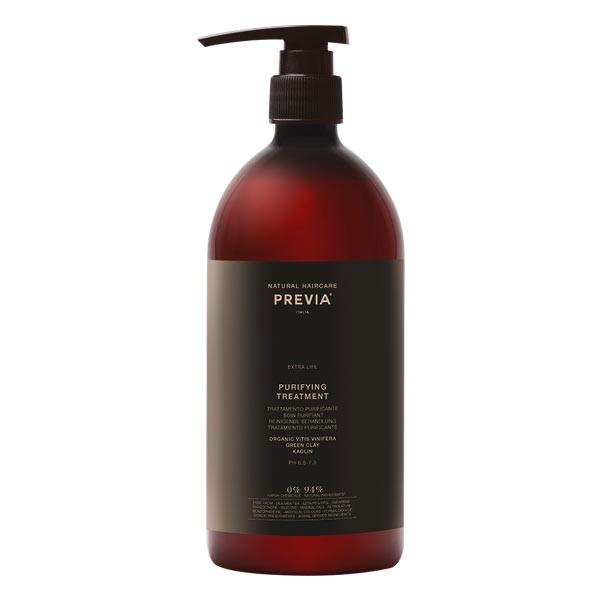 PREVIA Extra Life Purifying Treatment with Green Clay 1000 ml - 1