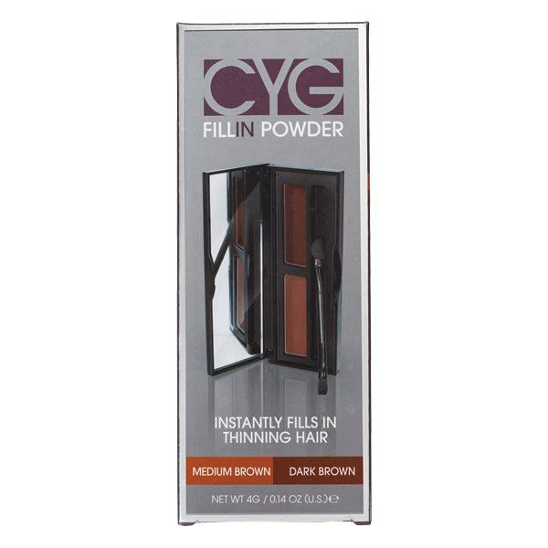Dynatron Cover your gray Fill-In Powder Medium Brown | Dark Brown 4 g - 1