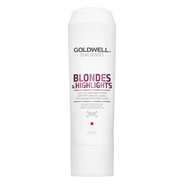 Goldwell Dualsenses Blondes & Highlights Anti-Yellow Conditioner 200 ml - 1