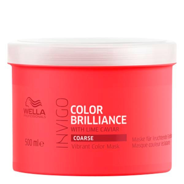Wella Invigo Color Brilliance Vibrant Color Mask Coarse 500 ml - 1