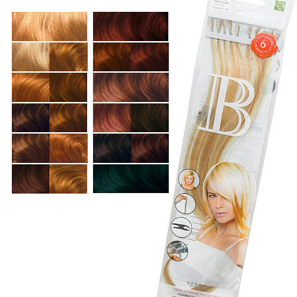 Balmain Fill-In Extensions Natural Straight Duotone  - 1