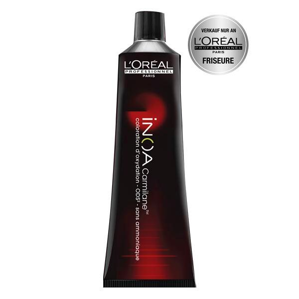 L'ORÉAL INOA Carmilane 6,66 Red Pepper - Dunkelblond Tiefes Rot, Tube 60 ml - 1
