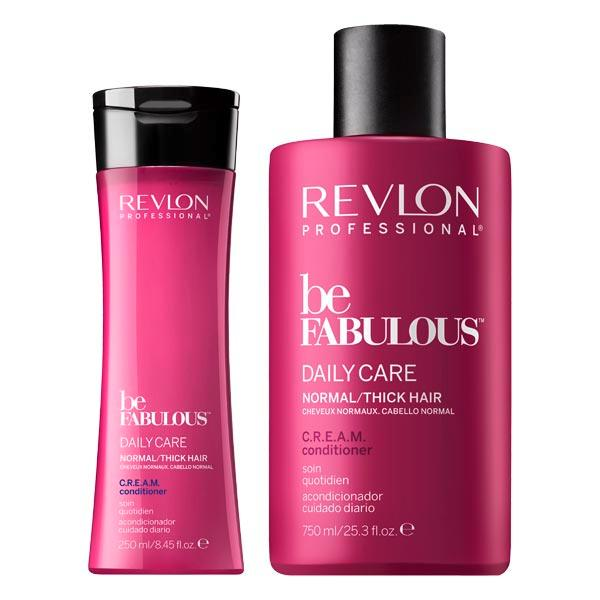 Revlon Professional Be Fabulous Daily Care Normal/Thick Hair C.R.E.A.M. Conditioner  - 1