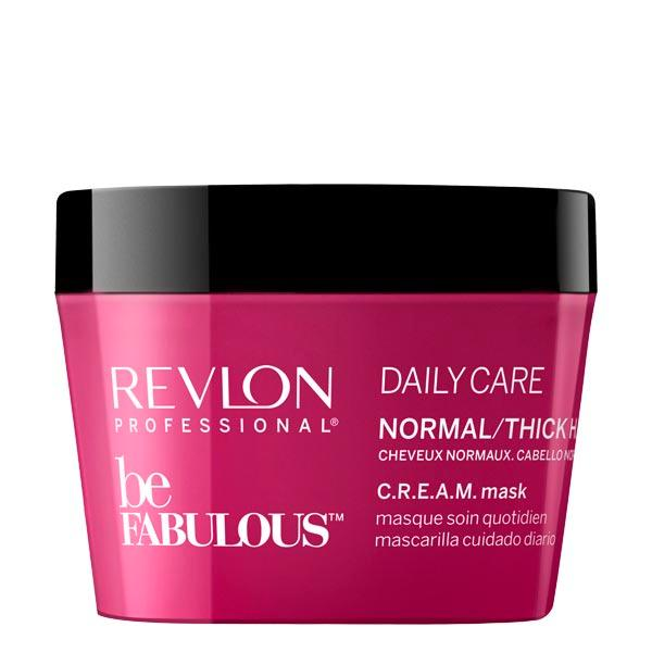 Revlon Professional Be Fabulous Daily Care Normal/Thick Hair C.R.E.A.M. Mask 200 ml - 1