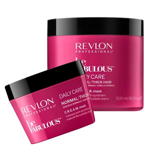 Revlon Professional Be Fabulous Daily Care Normal/Thick Hair C.R.E.A.M. Mask  - 1