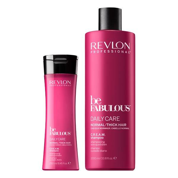 Revlon Professional Be Fabulous Daily Care Normal/Thick Hair C.R.E.A.M. Shampoo  - 1