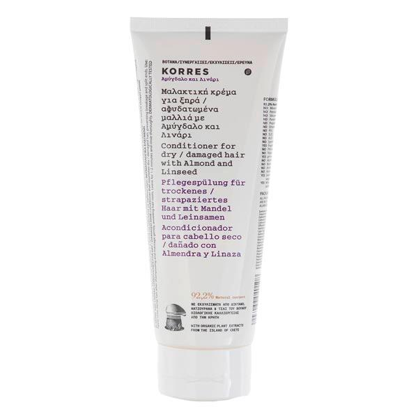 KORRES Almond & Linseed Conditioner 200 ml - 2