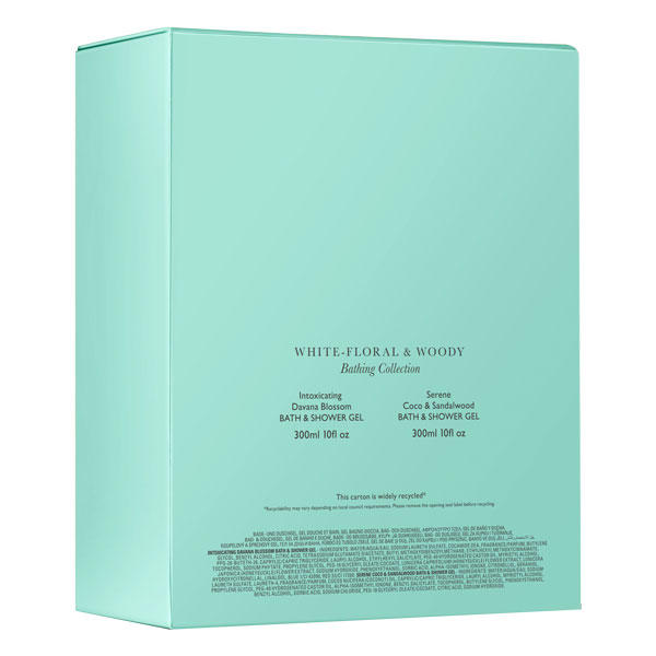 MOLTON BROWN White-Floral & Woody Gift Set  - 2