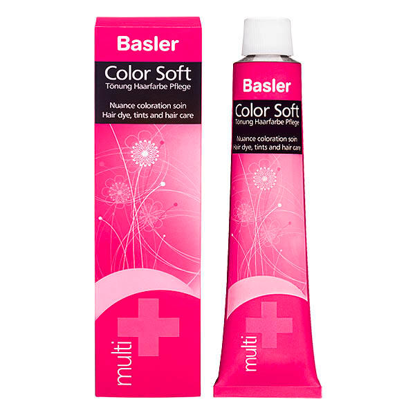 Basler Color Soft multi 6/6 dunkelblond violett - aubergine, Tube 60 ml - 2