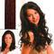 hair4long Mèches en cheveux naturels brun clair roux #5/4