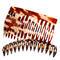 BHK Peignes de fixation Dents ecartées Env. 7,5 cm
