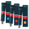 Indola Profession Permanent Caring Color Dunkelbraun Violett Naturals & Essentials Tube 60 ml