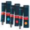 Indola Profession Permanent Caring Color Mittelbraun Gold Mahagoni Naturals & Essentials Tube 60 ml