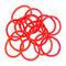 Solida Elastiques sans pièce en métal rouge