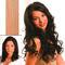 hair4long Echthaarsträhnen Spezialblond Extrahell #613