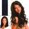 hair4long Mèches en cheveux naturels noir #1