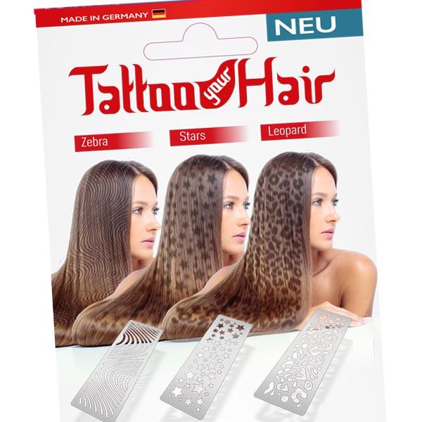 Cover Hair Sprühschablone