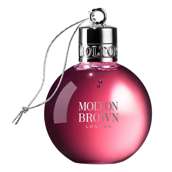 MOLTON BROWN Fiery Pink Pepper Festive Shower Gel Bauble