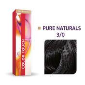 Wella Color Touch Pure Naturals 3/0 Châtain foncé