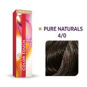Wella Color Touch Pure Naturals 4/0 Châtain moyen