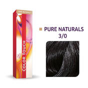 Wella Color Touch Pure Naturals 3/0 Dunkelbraun