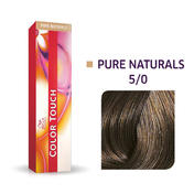 Wella Color Touch Pure Naturals 5/0 Hellbraun