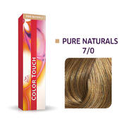 Wella Color Touch Pure Naturals 7/0 Mittelblond
