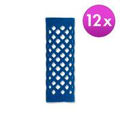 BHK Rouleaux Bleu, Ø 21 mm, Par paquet 12 pièces