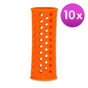 Efalock Original-Griffig-Haarwickler Orange, Ø 22 mm, Pro Packung 10 Stück