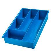 Basler Boîtes bigoudis Bleu