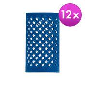 BHK Rouleaux Bleu, Ø 36 mm, Par paquet 12 pièces