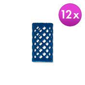 BHK Rouleaux courts Bleu, Ø 21 mm, Par paquet 12 pièces