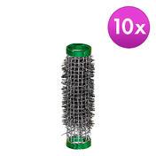 BHK Rouleaux grillage Vert, Ø 15 mm, Par paquet 10 pièces