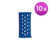 Efalock Rouleaux courts – Original Bleu, Ø 20 mm, Par paquet 10 pièces