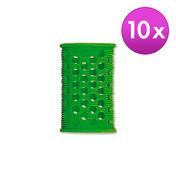 Efalock Rouleaux courts – Original Vert, Ø 25 mm, Par paquet 10 pièces