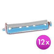 BHK Profi Dauerwell-Kurzwickler Blau-Grau, Ø 13 mm, Pro Packung 12 Stück